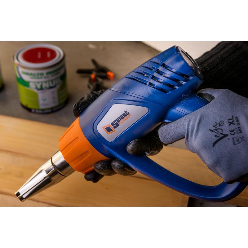 Pistola ad aria calda Smart Power-Foto utilizzo del prodotto