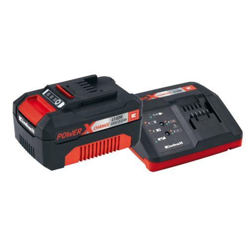 Batteria e carica batteria Einhell foto prodotto