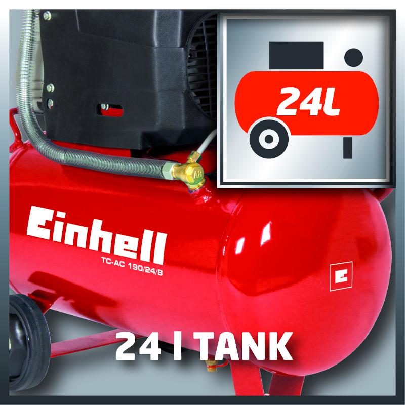 Compressore Einhell 24 l