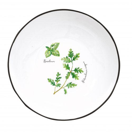 Herbarium-Piatto Fondo-Immagine dall'alto