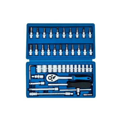 Set 46 chiavi a bussola-Foto prodotto visto dall'alto